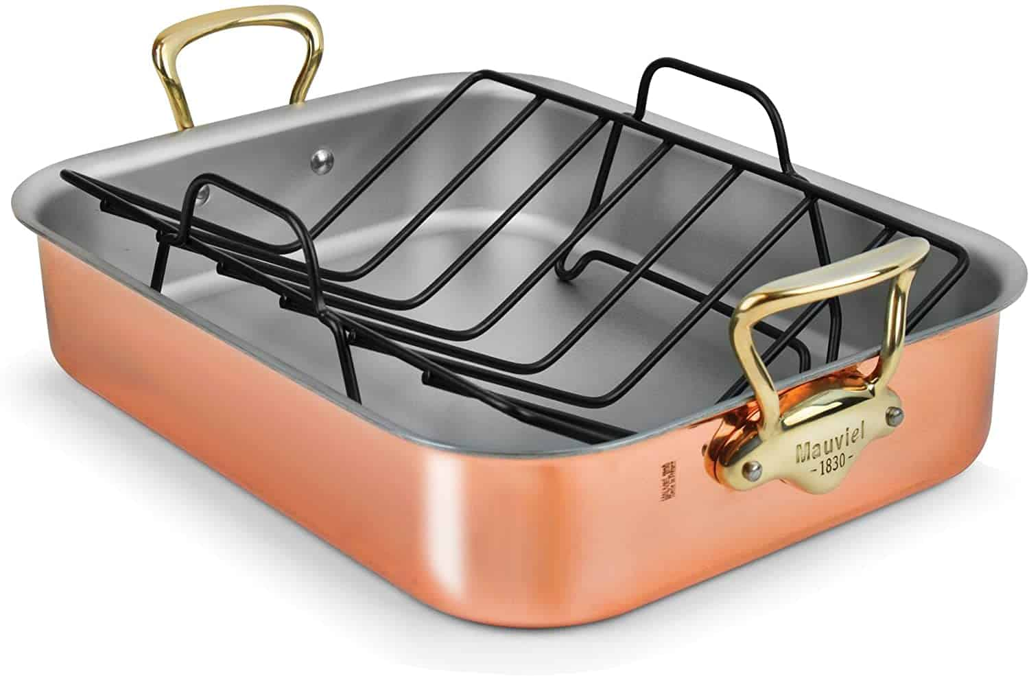 Mauviel copper roasting pan