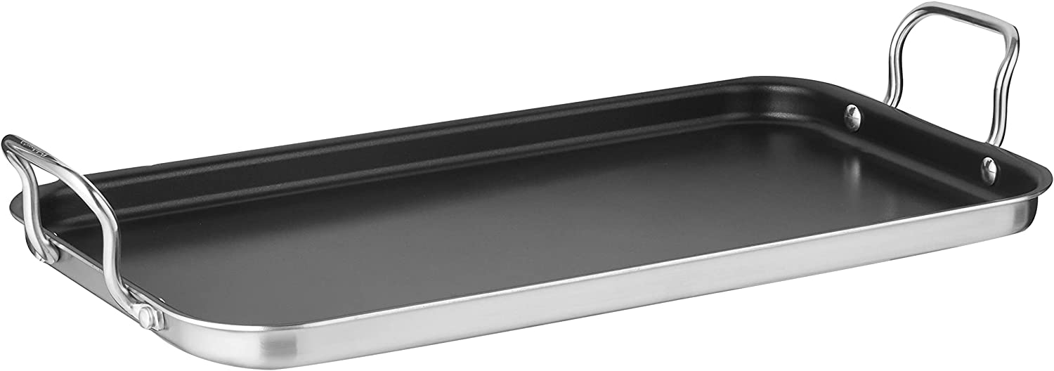 Best budget stainless steel griddle for induction: Cuisinart