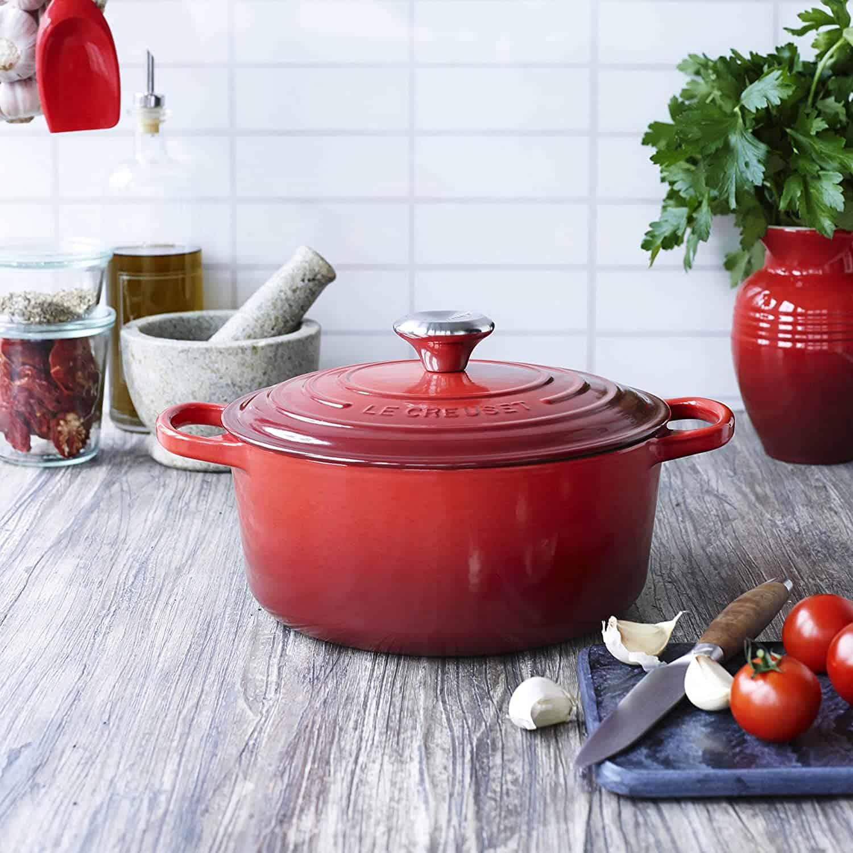 Best casserole for ceramic stove top: Le Creuset