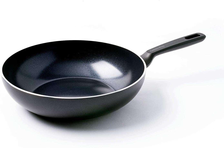 Best wok for ceramic stove top: Greenpan Memphis
