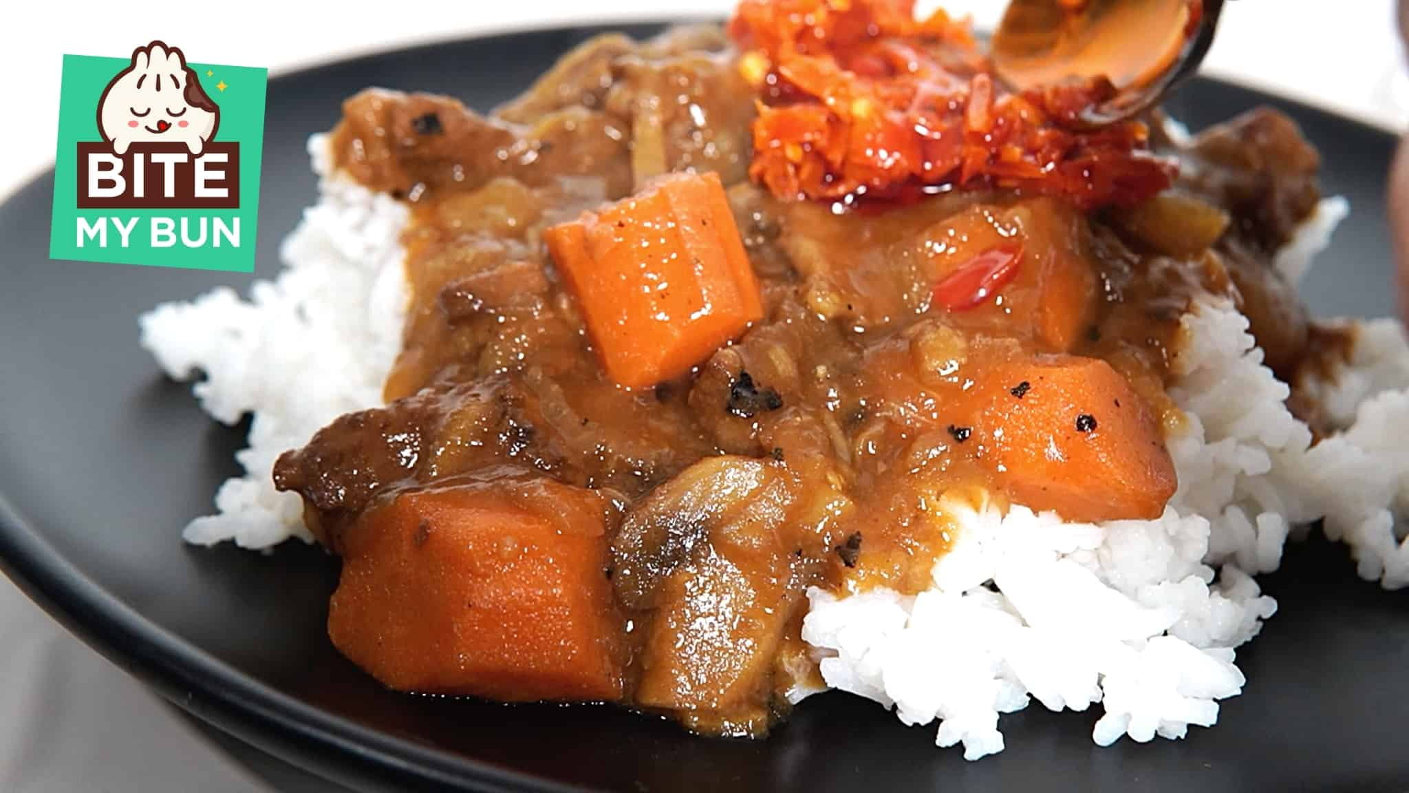 Make this mild Japanese beef curry if you can't handle spicy Indian curry