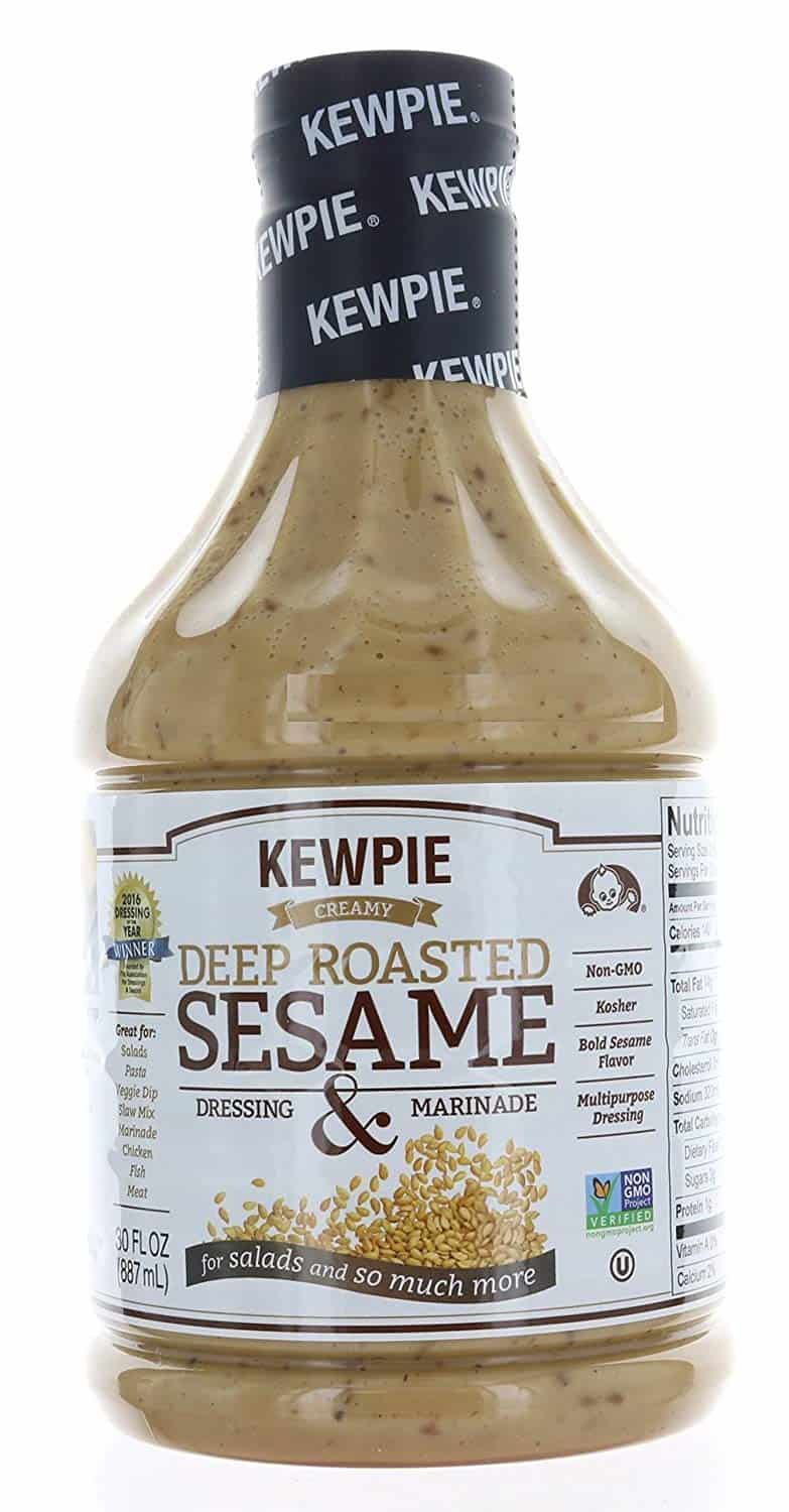 Sesame ginger dressing- Kewpie Deep Roasted