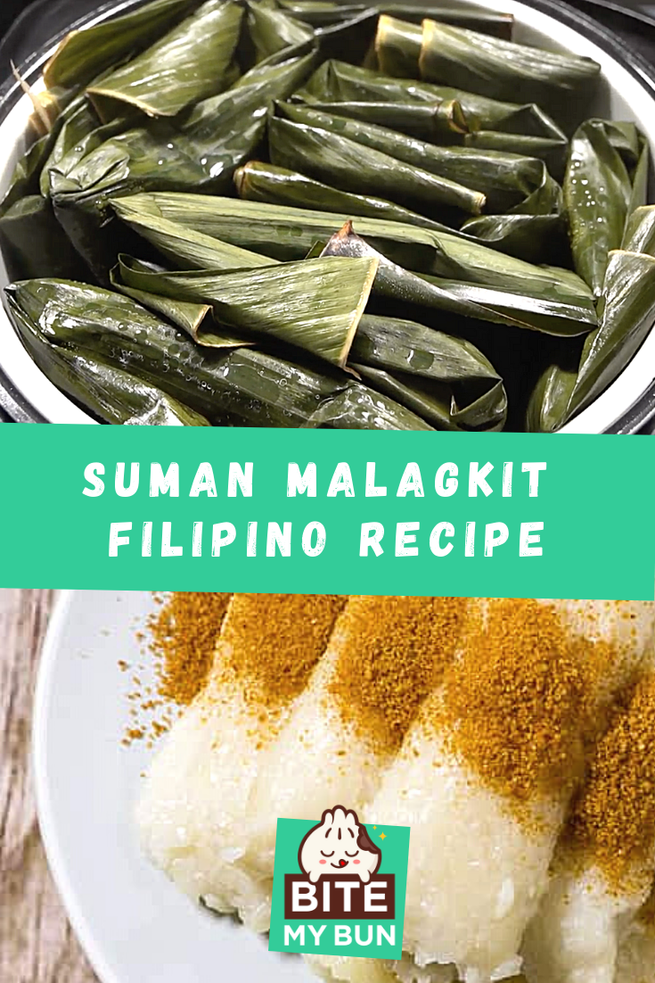 Suman Malagkit recipe how to make it yourself at home pinned