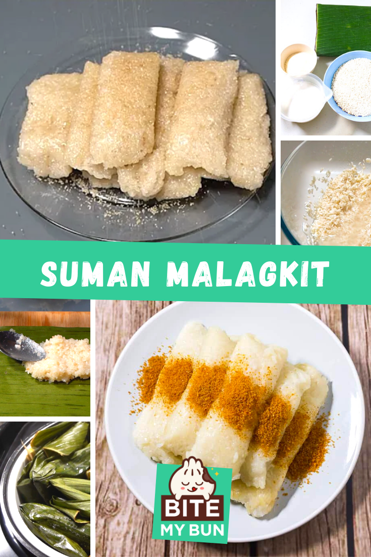 Suman Malagkit recipe how to make it yourself at home recipe