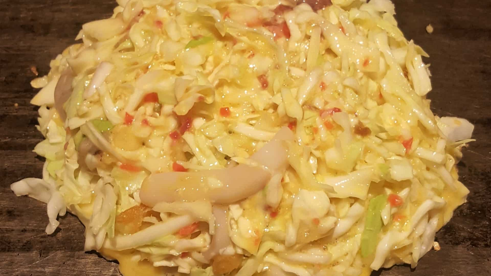 What type of cabbage do you use for okonomiyaki