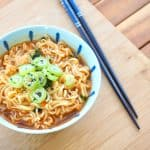 Easy 12 minute instant ramen with egg
