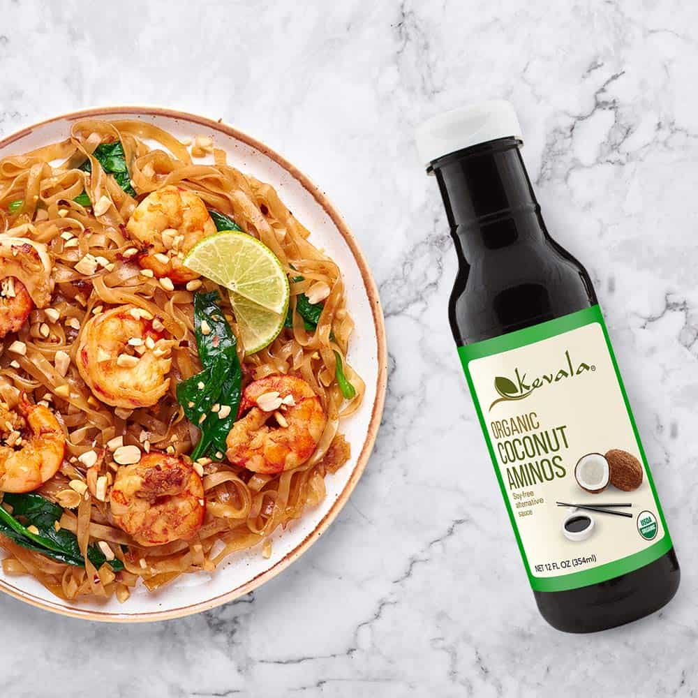 Coconut aminos soy sauce substitute