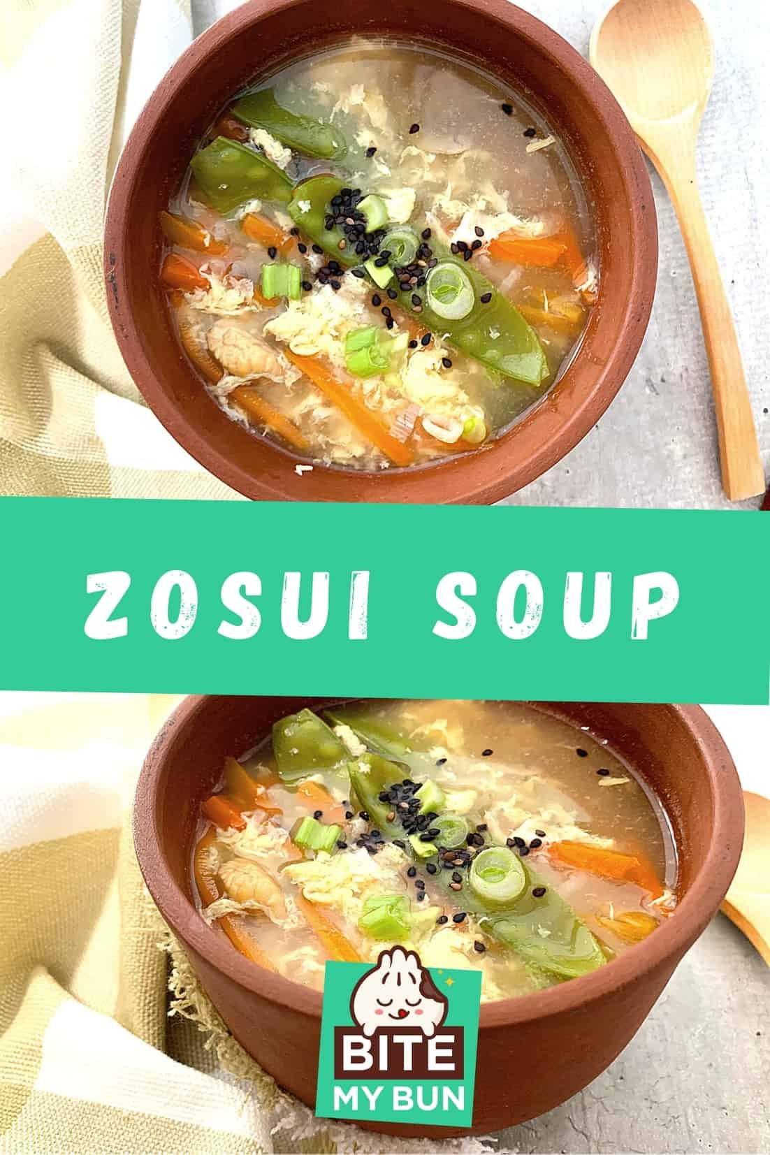 How to make Japanese zosui soup (2)