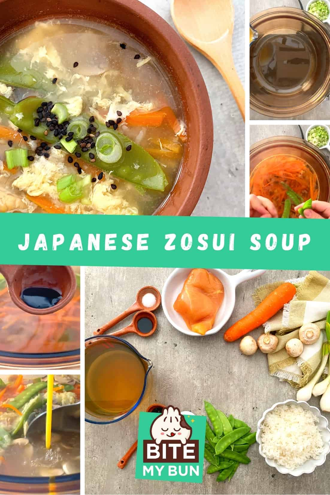 How to make Japanese zosui soup