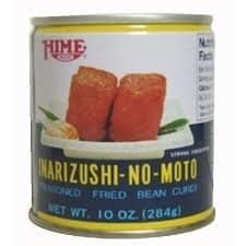 Best canned aburaage- Hime brand Inarizushi no Moto