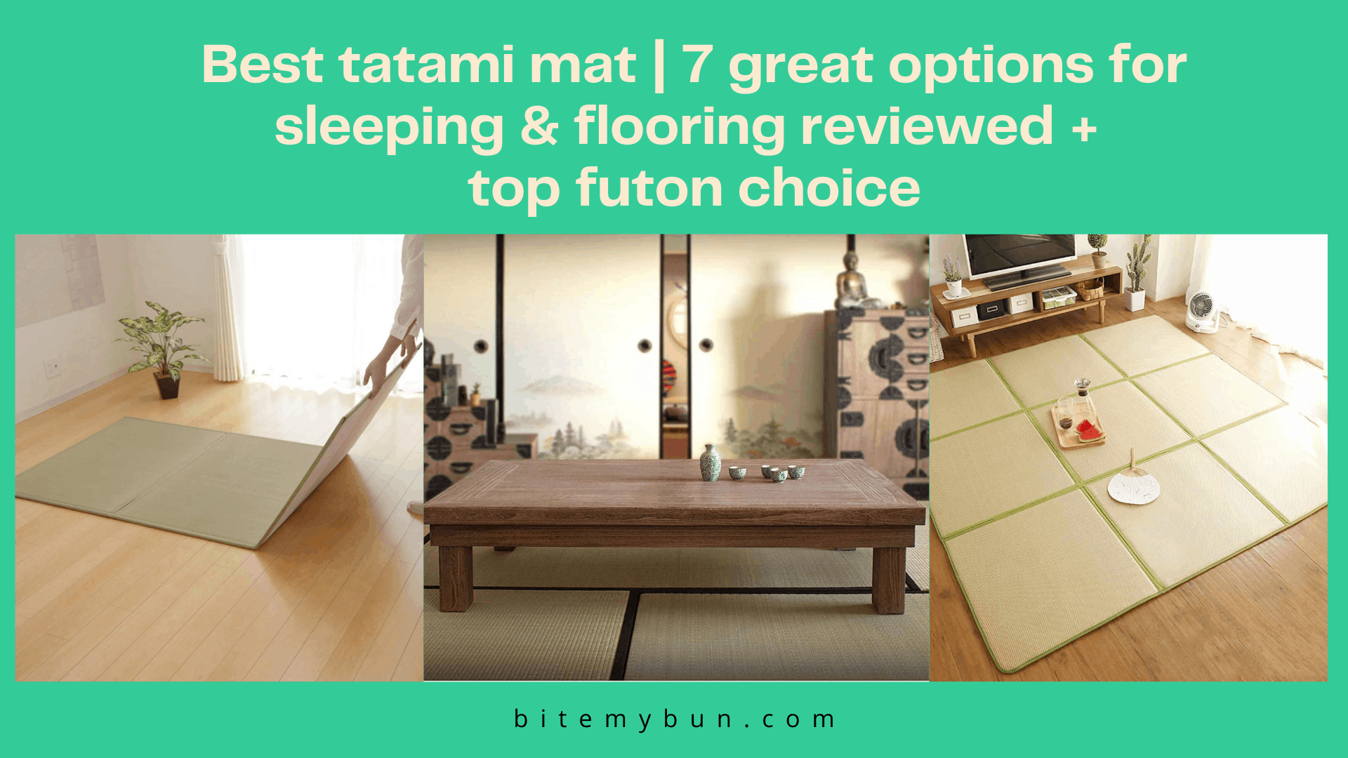 Best tatami mat | 7 great options for sleeping & flooring reviewed +top futon choice