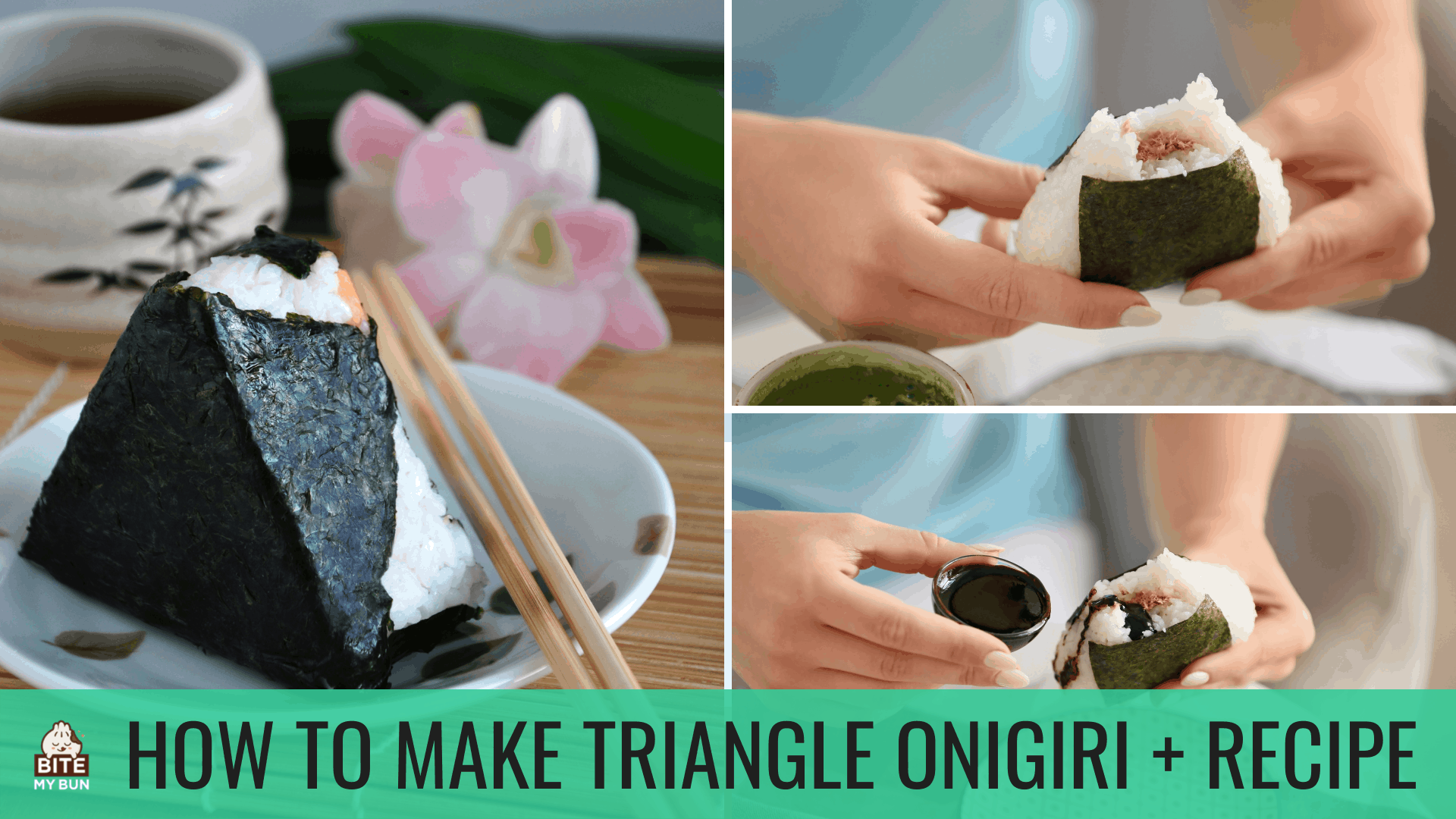 How to make triangle onigiri | Recipe + info for this traditional Japanese snack
