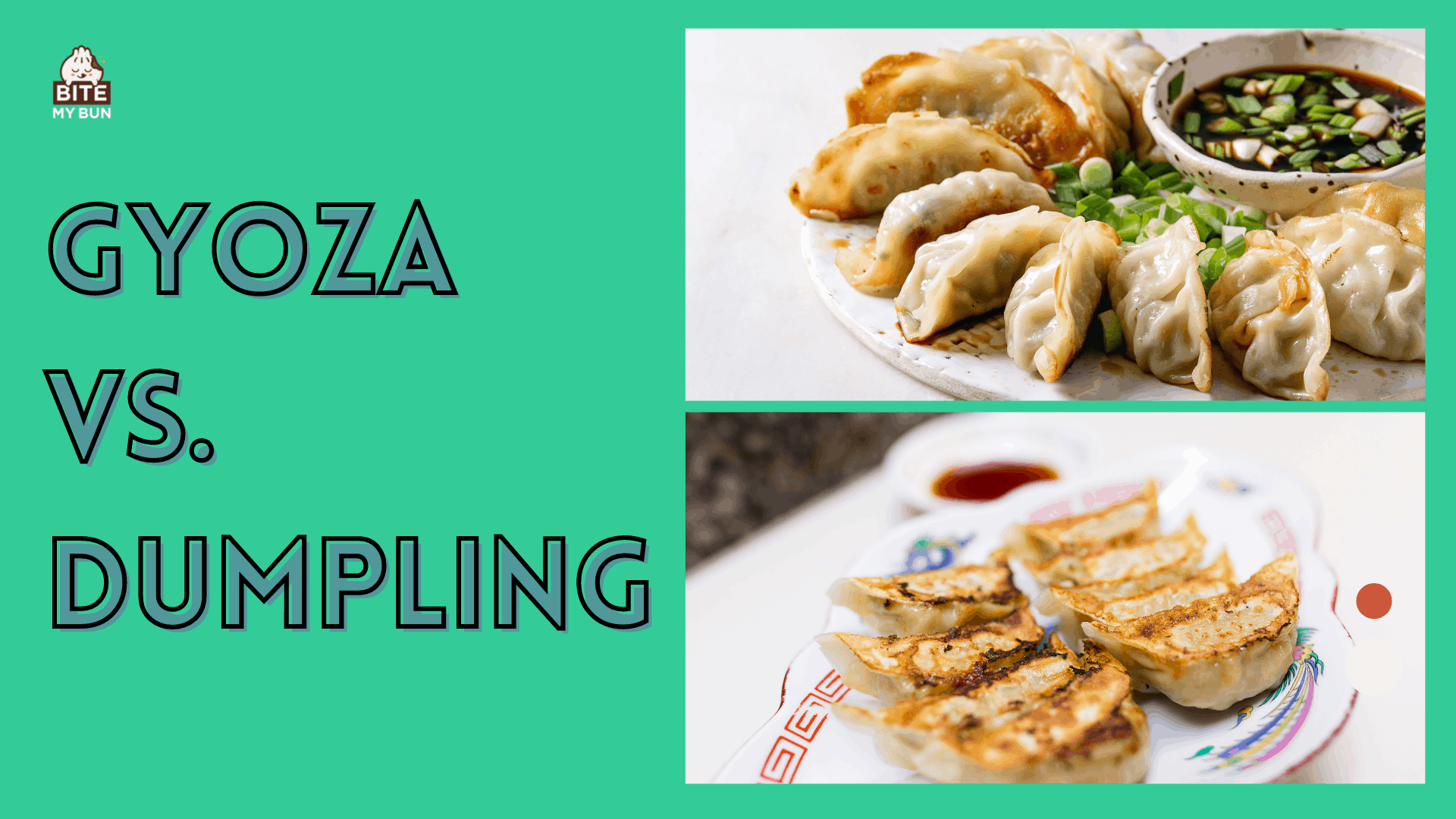 Gyoza vs dumpling what is the difference?