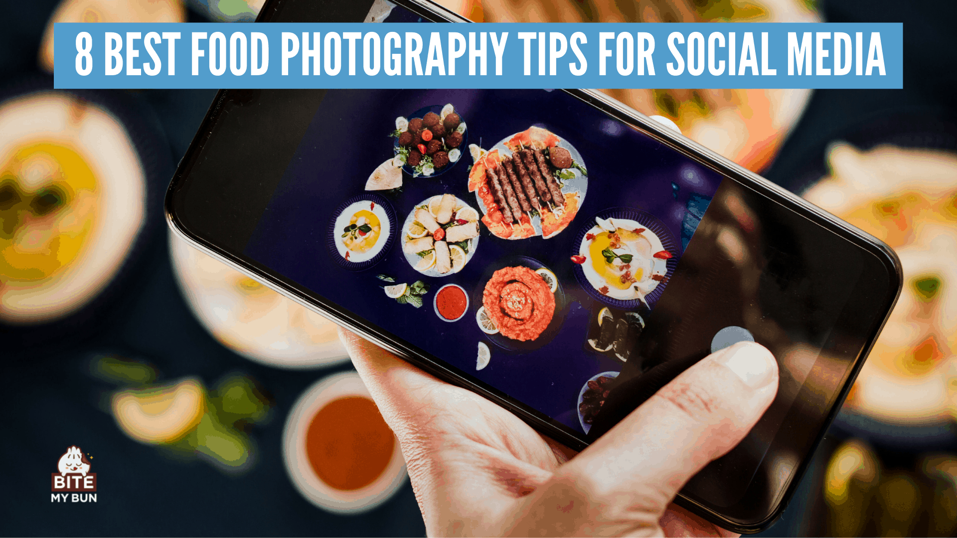 how to take better photos of your food for social media 8 photography tips