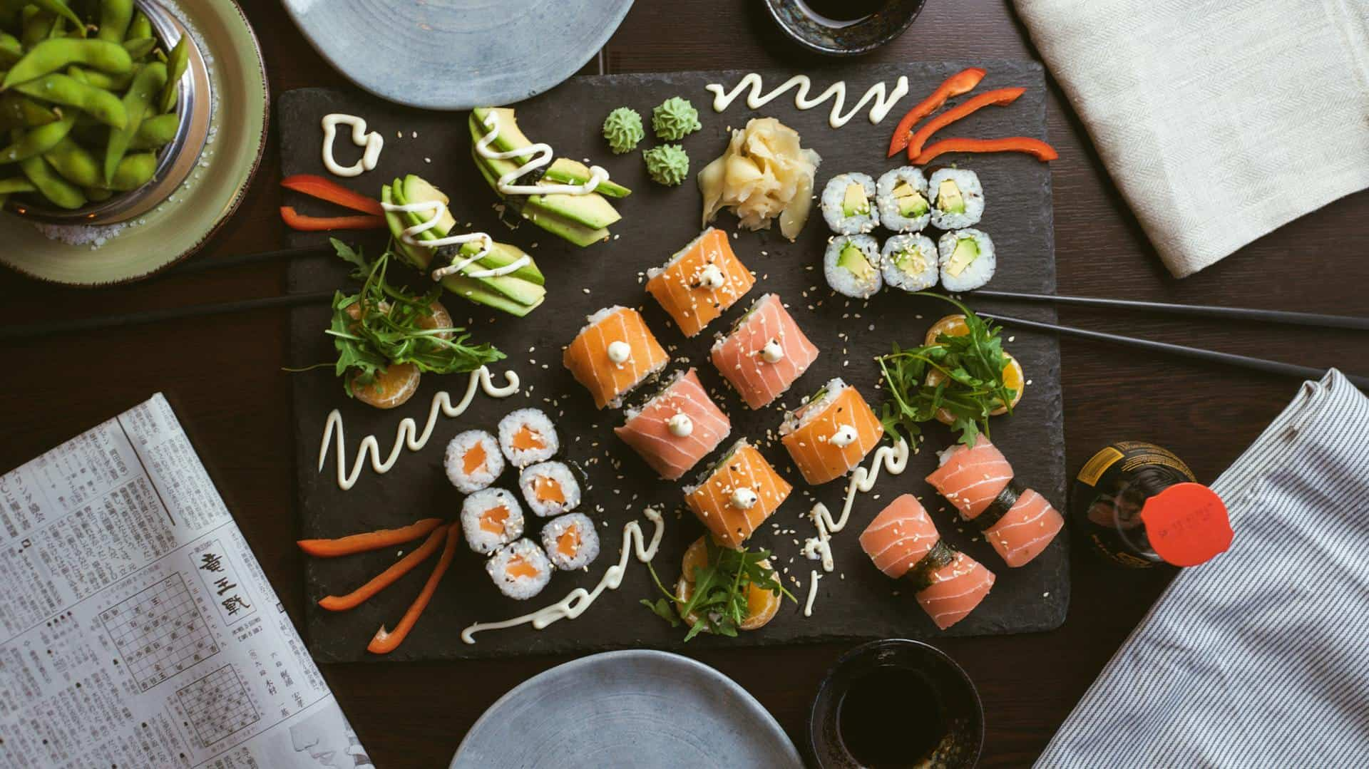 how to take better pictures of your sushi for social media