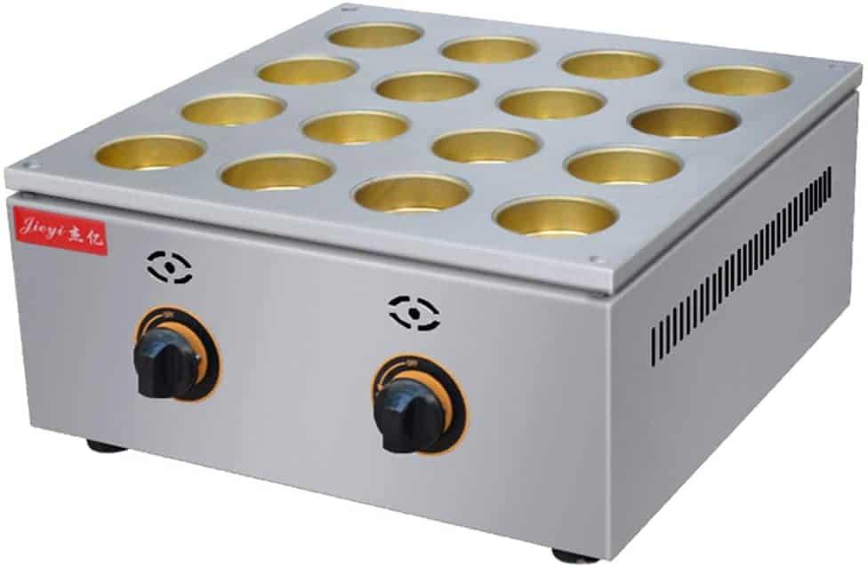 Best commercial imagawayaki machine- LANTAO 16-hole Gas Red bean cake machine