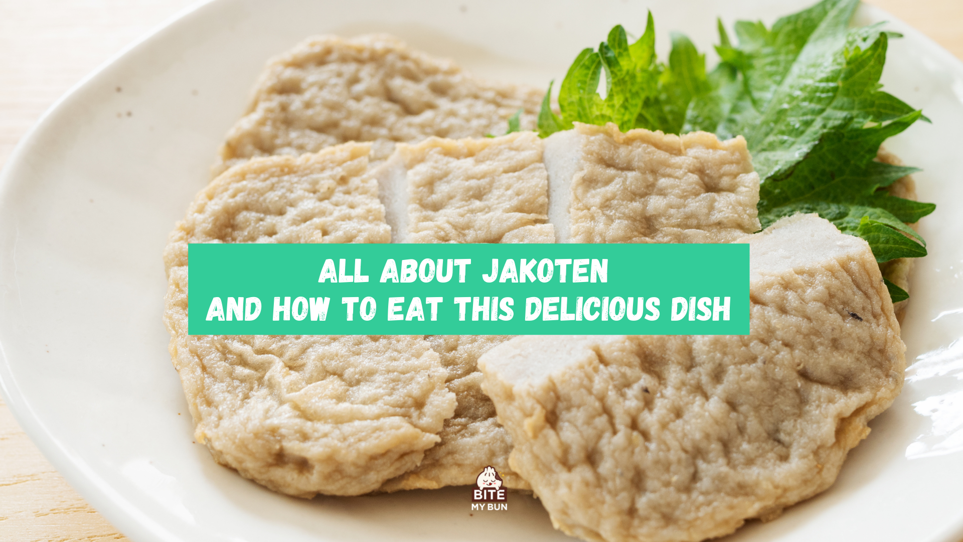 All about jakoten and how to eat this delicious dish