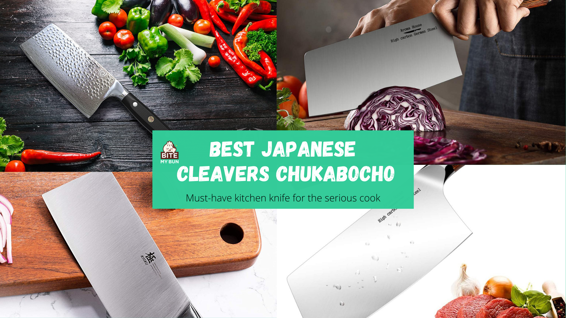 Best Japanese cleavers chukabocho   Must-have kitchen knife for the serious cook