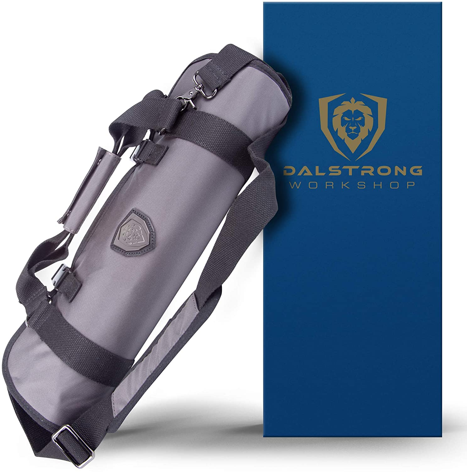 Best premium & large Japanese knife roll- DALSTRONG Ballistic Series rolled up
