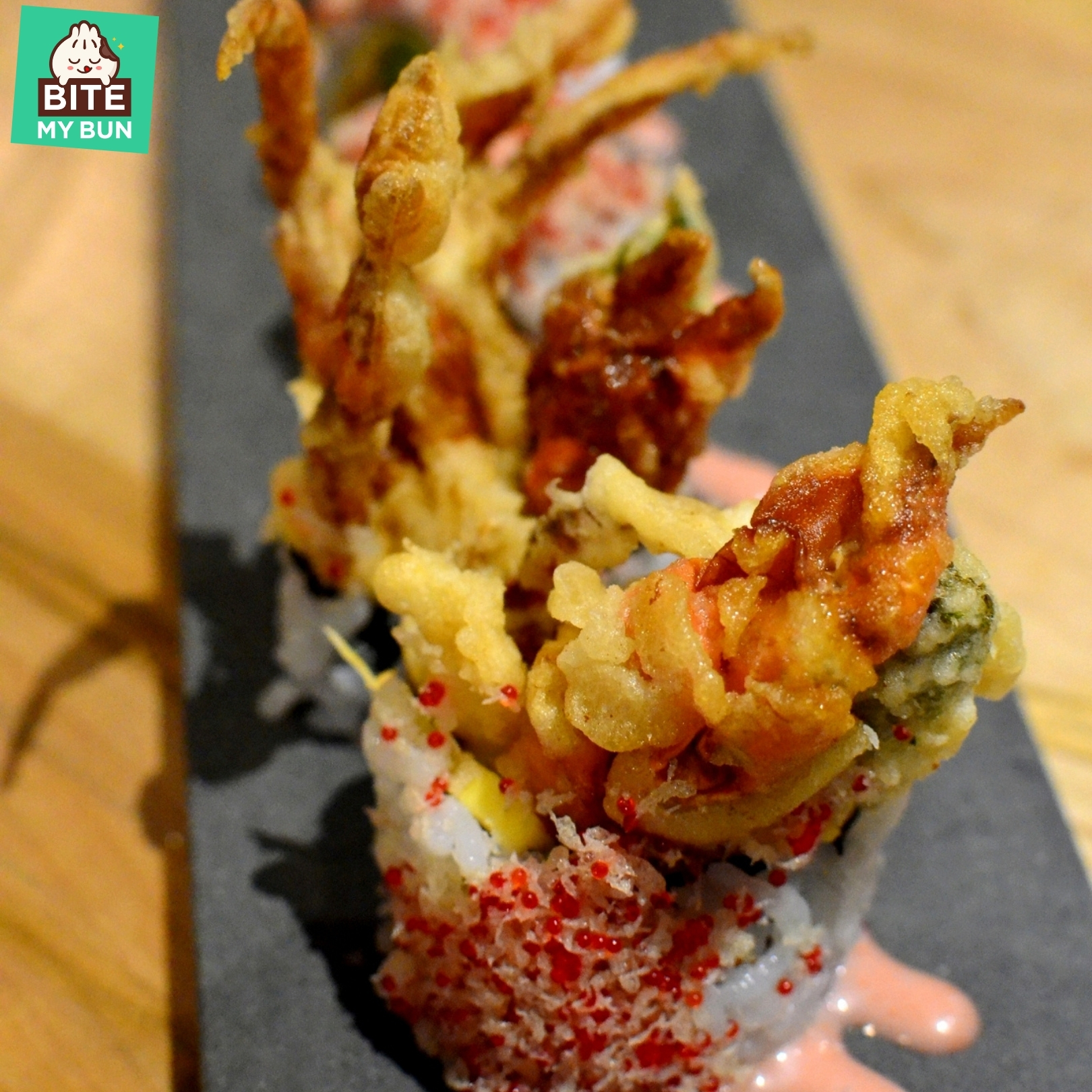 Spider sushi roll