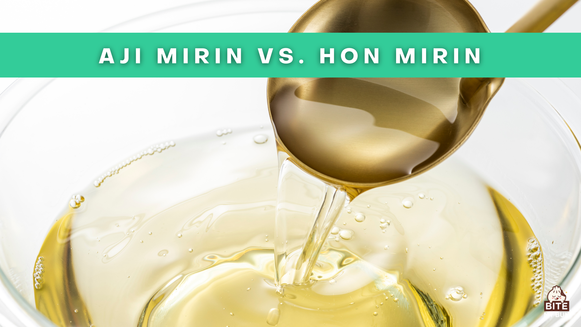 Aji mirin vs. hon mirin   They are not the same and it matters!