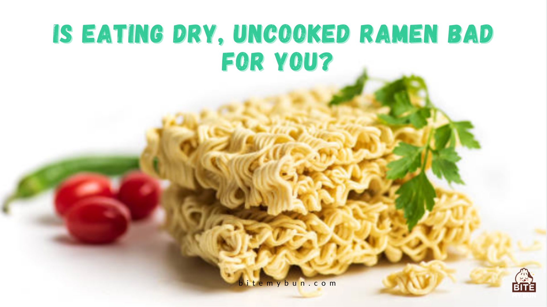 Is eating dry, uncooked ramen bad for you? Here's the good news