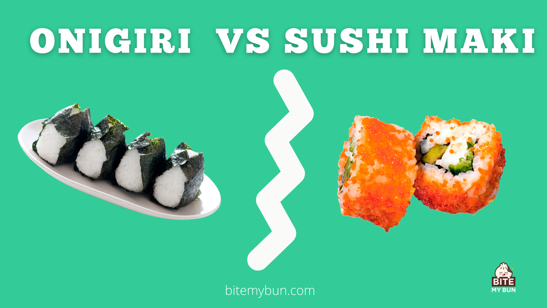 Onigiri vs sushi maki | What's the difference? It's about shape and flavor