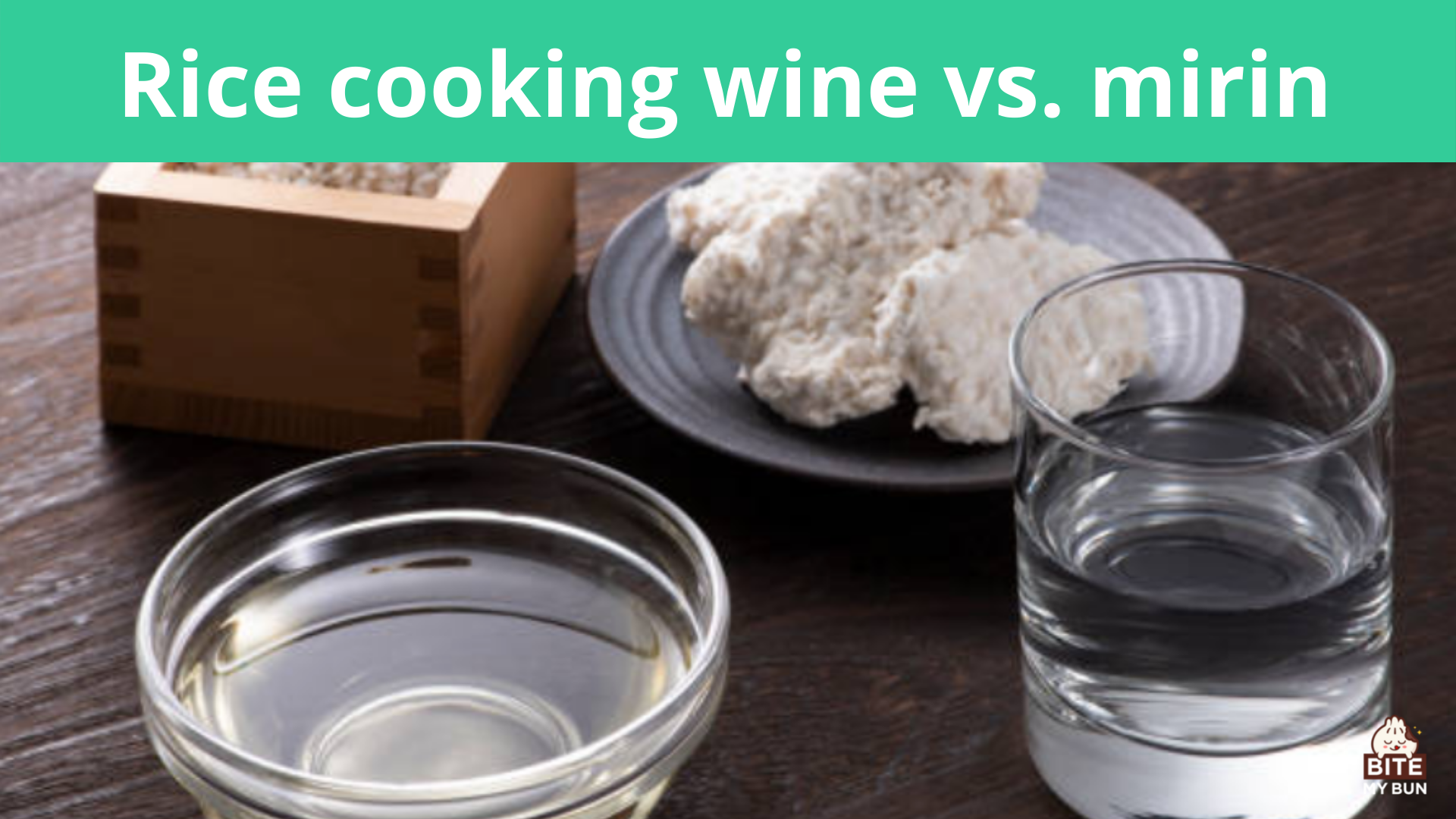 Rice cooking wine vs. mirin   Can I substitute one for the other?