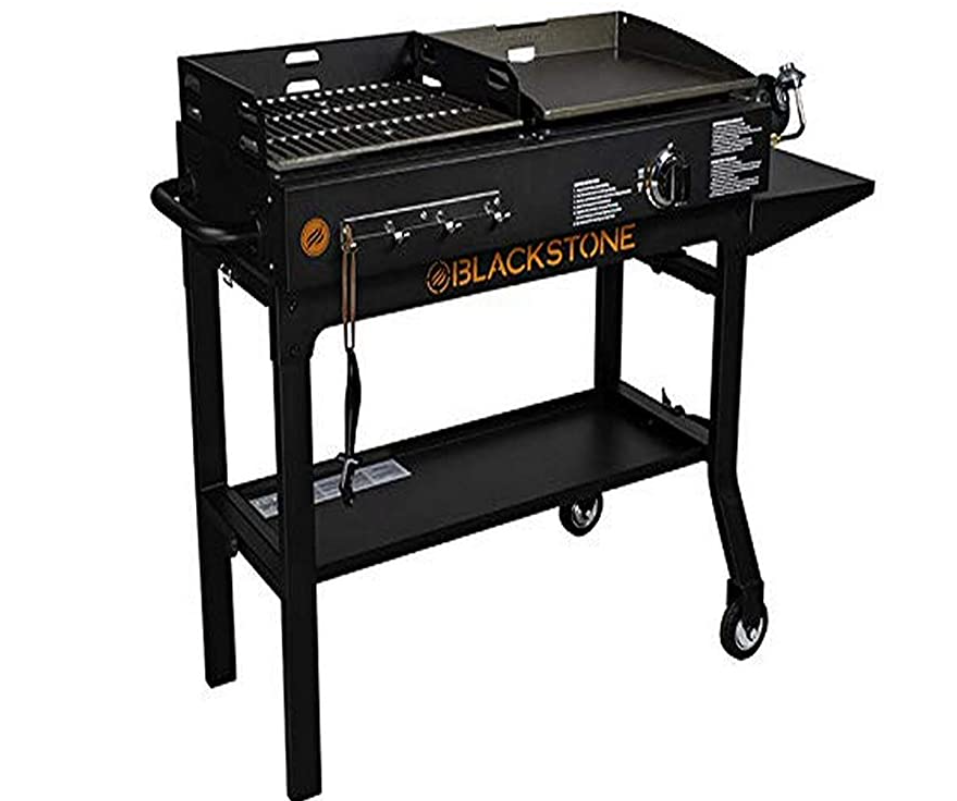 Blackstone 1819 Griddle and Charcoal Combo