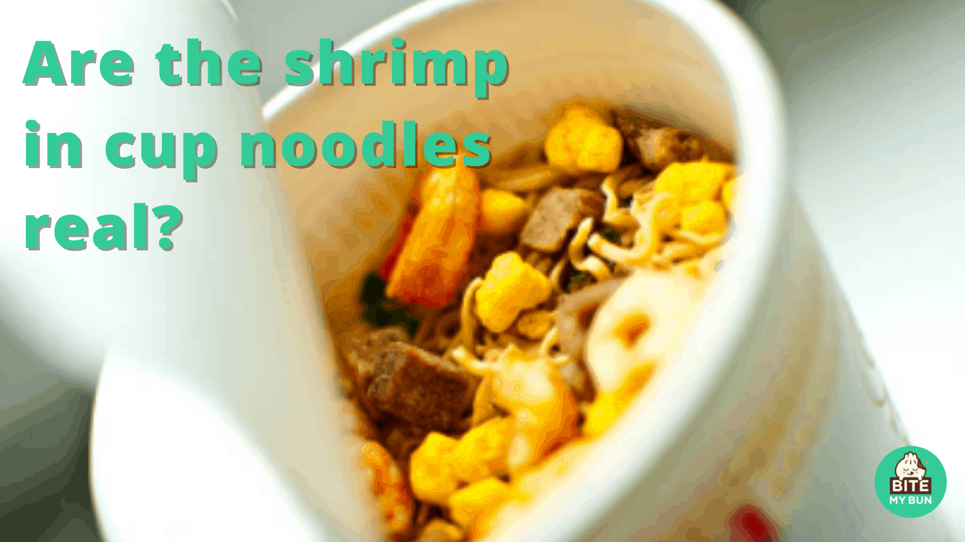 Are the shrimp in cup noodles real? The surprising truth