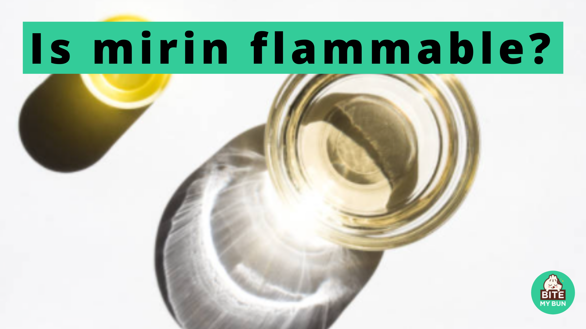Is mirin flammable? Here's why the alcohol is not an issue