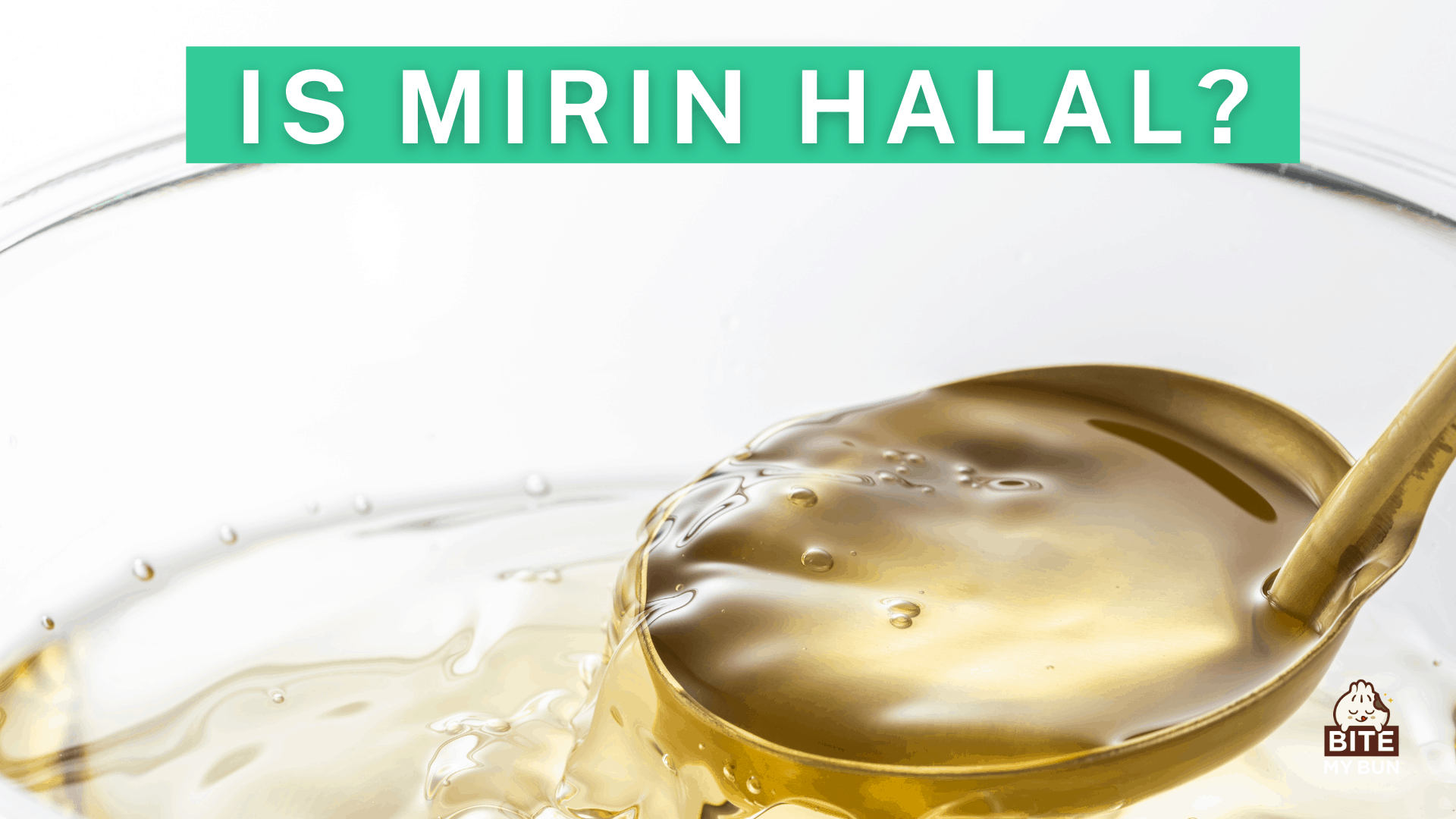 Is mirin halal? Genuine mirin is not, so use a substitute