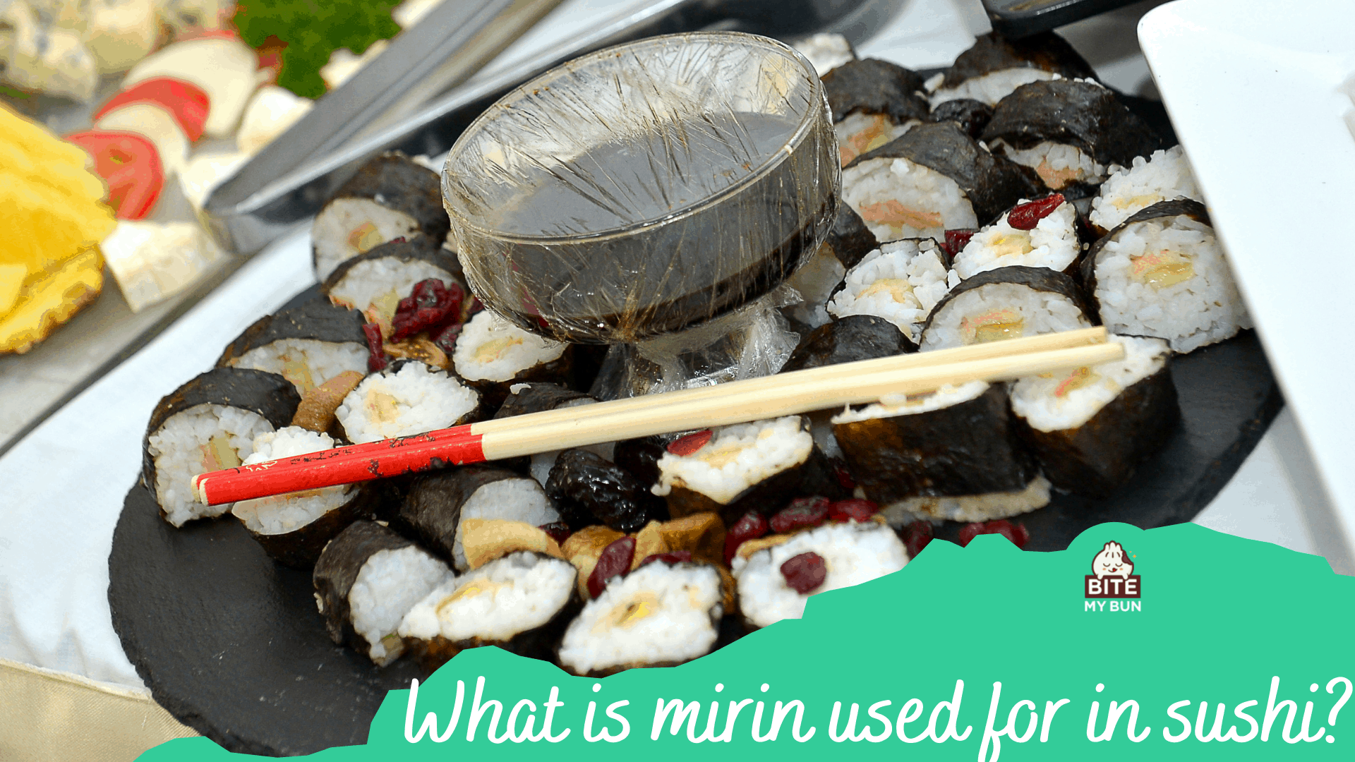 What is mirin used for in sushi? It's all about flavor